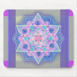 The Star of David. Mouse Pad