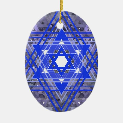 The Star of David Overlays. Ornaments