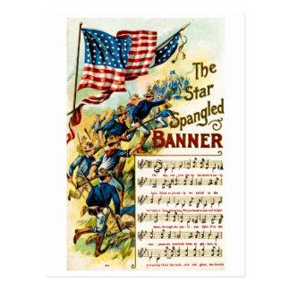 The Star Spangled Banner 1908 Postcard
