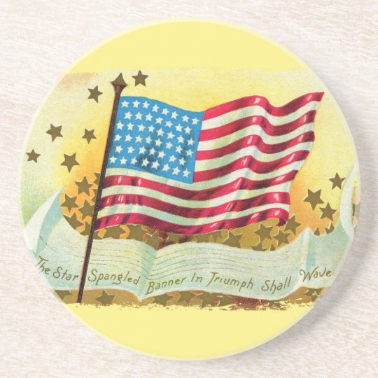 The Star Spangled Banner Coaster