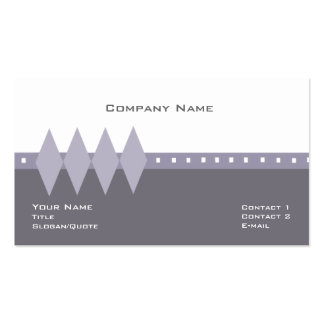 The Starlight Double-Sided Standard Business Cards (Pack Of 100)