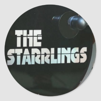 The Starrlings - Bass Drum Stickers