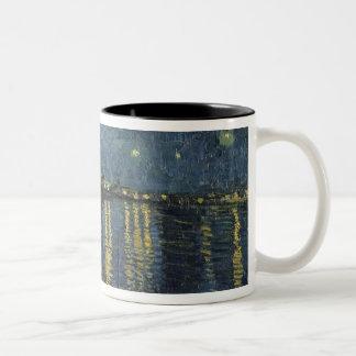 The Starry Night, 1888 Two-Tone Mug