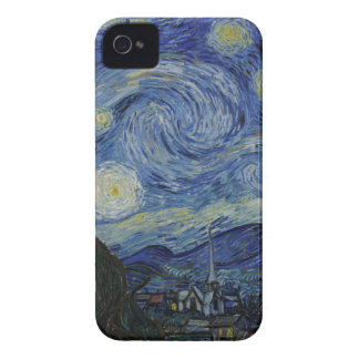 The Starry Night, 1889 by Vincent van Gogh iPhone 4 Case-Mate Case