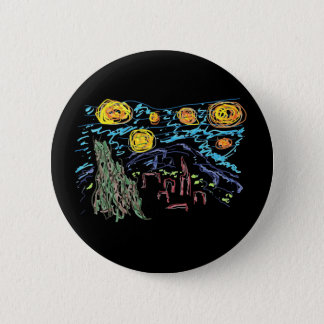 The Starry Night 2 Inch Round Button