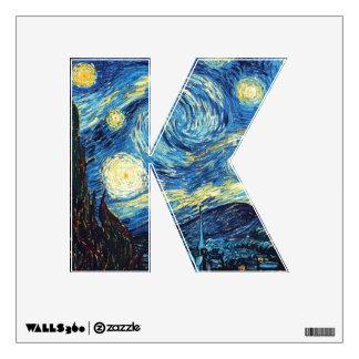 The Starry Night (De sterrennacht) - Van Gogh Wall Sticker