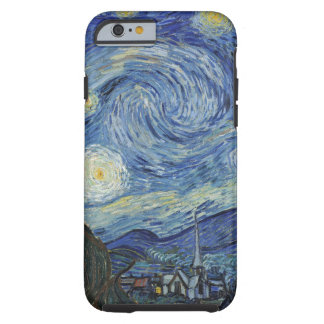 The Starry Night, June 1889 (oil on canvas) iPhone 6 Case