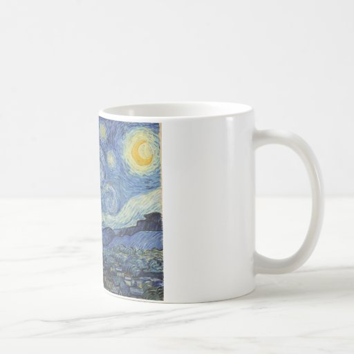 The Starry Night, June 1889 (oil on canvas) Coffee Mug