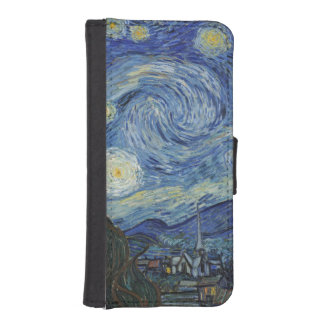 The Starry Night, June 1889 (oil on canvas) Phone Wallet Cases