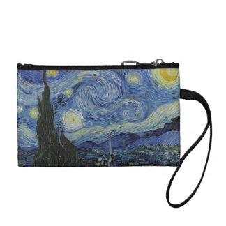 The Starry Night Key Coin Clutch