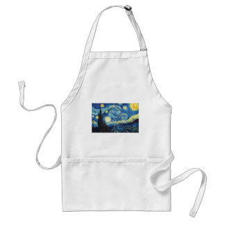 The Starry Night Standard Apron