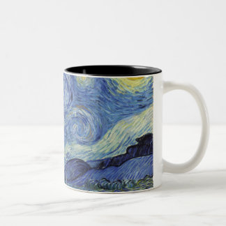 The Starry Night Two-Tone Coffee Mug