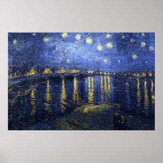 The Starry Night (van Gogh) Poster