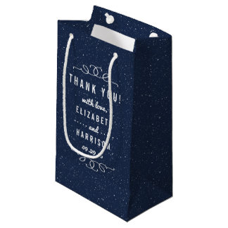 The Starry Night Wedding Collection Small Gift Bag