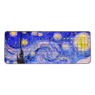 The Starry Night Wireless Keyboard