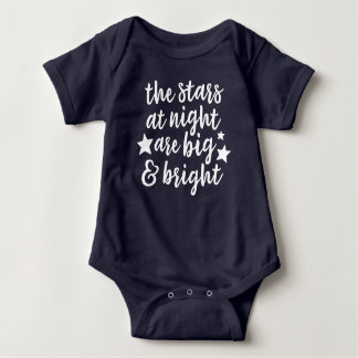 The Stars at Night Texas Baby Bodysuit