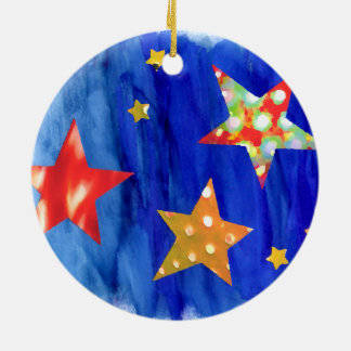 The Stars In The Bright Sky Christmas Ornament