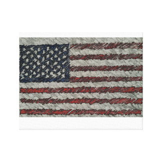 The State of America Canvas Print