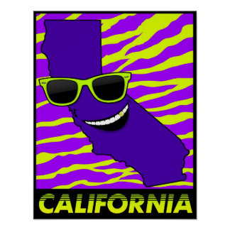 The State of California Poster