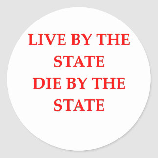 the state sticker