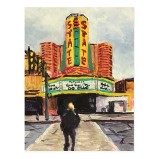 The State Theater Ann Arbor Postcard