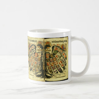 The States of the Holy Roman Empire Jost de Negker Classic White Coffee Mug