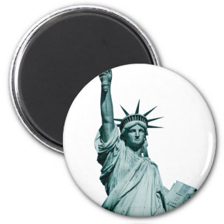The Statue of Liberty 2 Inch Round Magnet