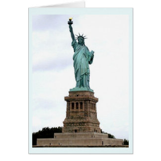 The Statue of Liberty Enlightening the World Card