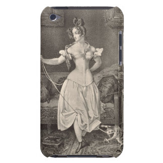 The Stay-lace, engraved by Alfred Leon Lemercier ( Case-Mate iPod Touch Case