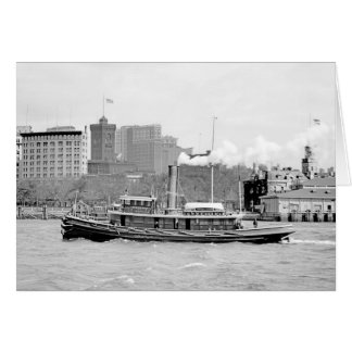 The Steam Tug Phoenix Card