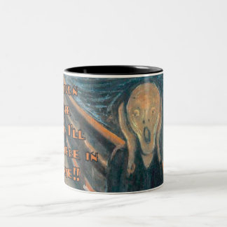 The Steam Two-Tone Coffee Mug
