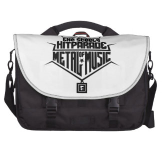 The steely Hitparade of Metal Music 2 (black) Commuter Bags