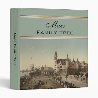 The Steen, Antwerp, Belgium Family Tree Binder
