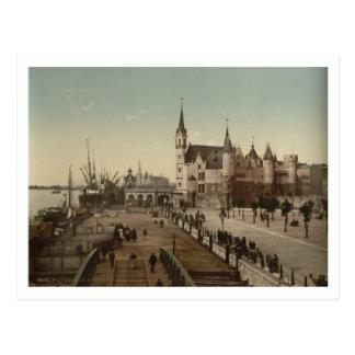 The Steen, Antwerp, Belgium Postcard
