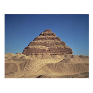 The Step Pyramid of King Djoser, c.2630-2611 BC Postcard
