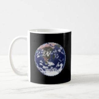 The Still Earth Pixel Art Coffee Mug