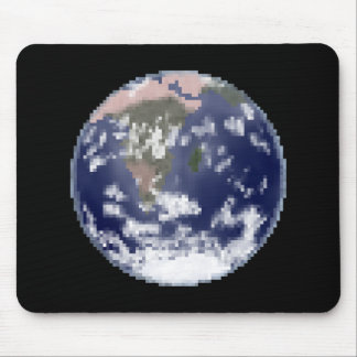 The Still Earth Pixel Art Mouse Mat Mouse Pad