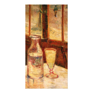 The Still Life with Absinthe by Vincent van Gogh Photo Card