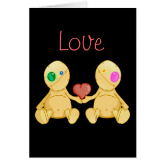 The Stitches Love Card