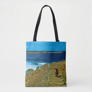 The_Stolen_Teddy,_Full_Print_Shopping_Bag Tote Bag