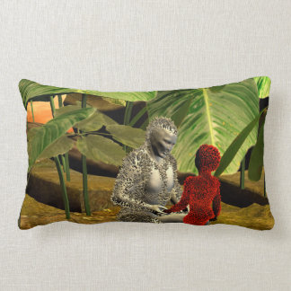 The stone people throw pillow
