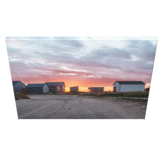 The Stores of Natashquan Canvas Print