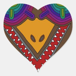 The Stork Heart Sticker