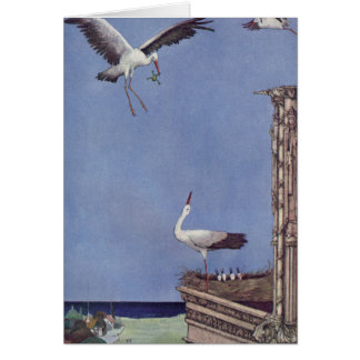 The Storks Greeting Card