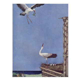 The Storks Postcard