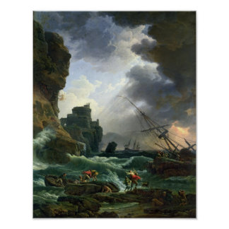 The Storm, 1777 Poster