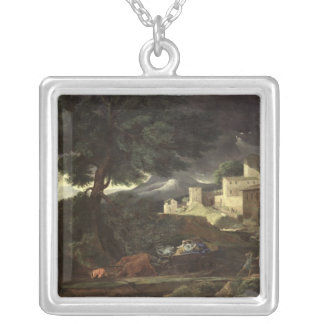 The Storm 2 Silver Plated Necklace