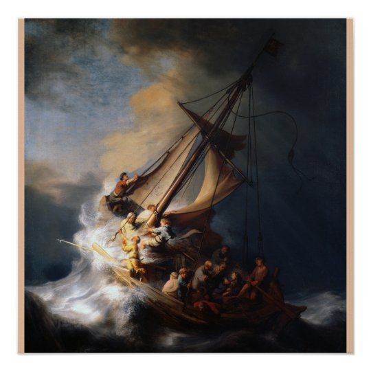 The Storm on the Sea of Galilee Poster