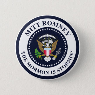 The Stormin' Mormon 2 Inch Round Button