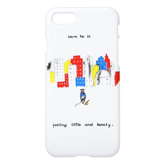 The Story of a Little Grey Mouse Little and Lonely iPhone 8/7 Case